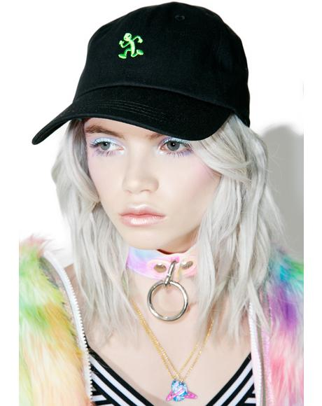 Alien Running Dad Hat