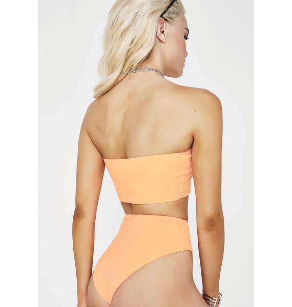 Flame Babe Land Bikini Set