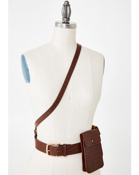 West End Girls Harness Belt