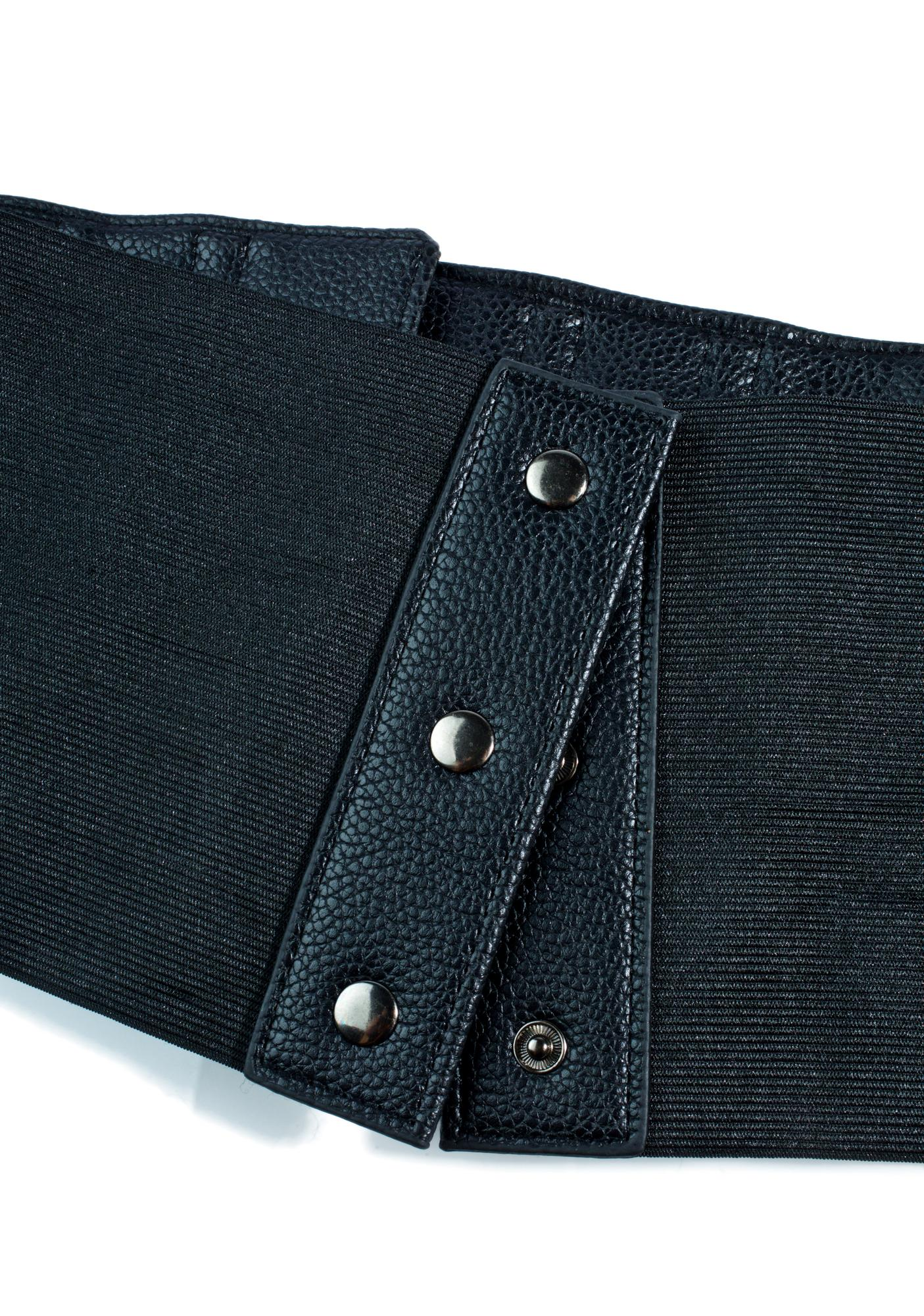 No Restrictions Buckle Belt