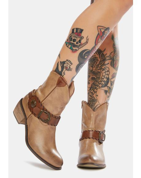 Ride Out Ankle Cowboy Boots