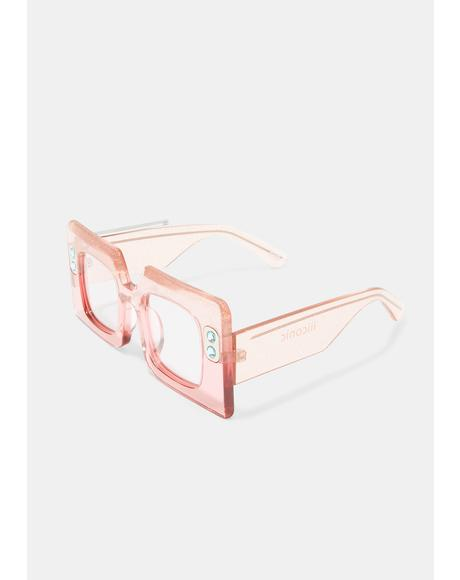 IIICONIC TV Clear Sunglasses