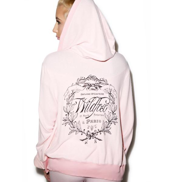 Wildfox Couture Paris Country Crest Malibu Hoodie