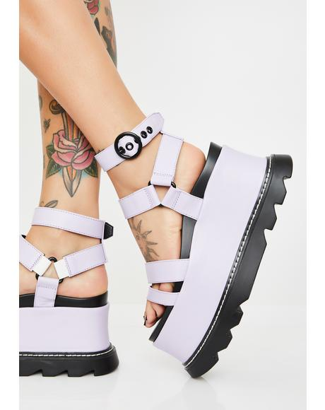 Keep Smiling BB Platform Sandals