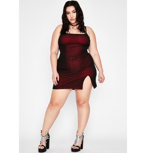 HOROSCOPEZ Gotta Know My Worth Slip Dress