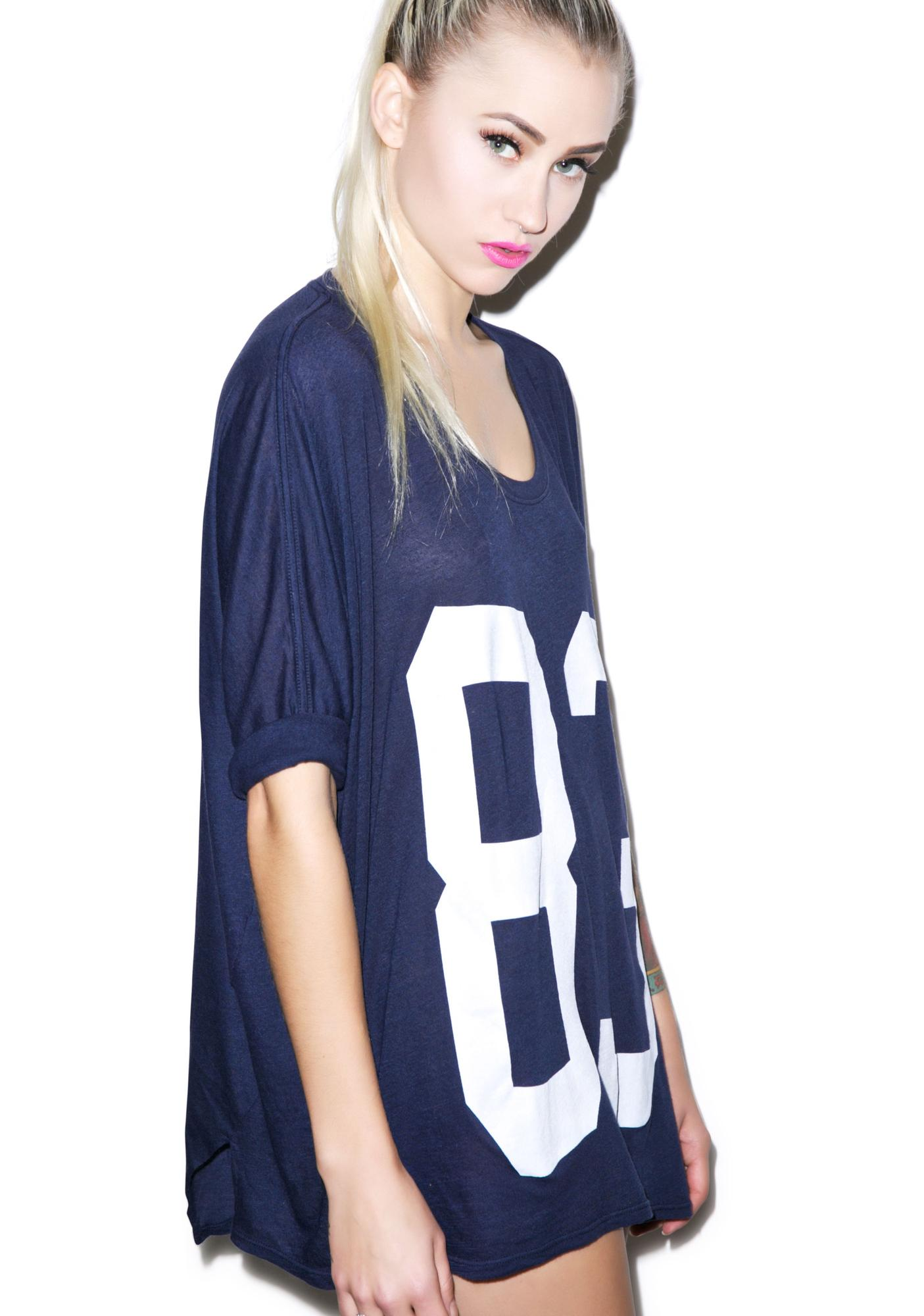 Wildfox Couture Big 83 Sunday Morning Tee