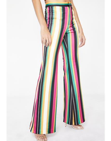 Electric Funkytown Striped Pants