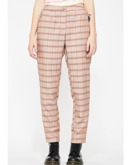 Cutie Pie Plaid Pants