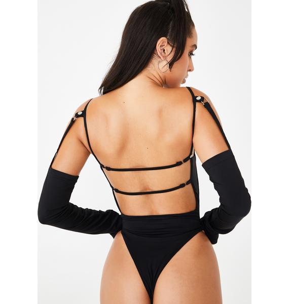 I AM GIA Agnes Cut-Out Bodysuit