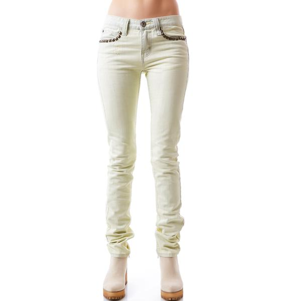 Bess NYC Dirty Boy Blue Jeans