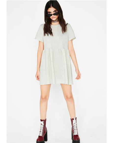 Pass The Tea Babydoll Dress