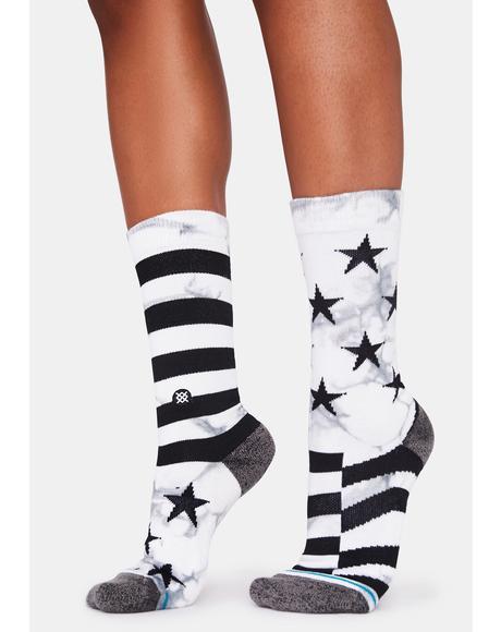 Hewes Crew Socks
