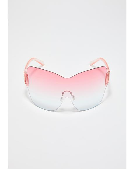 Phresh To Death Shield Sunglasses