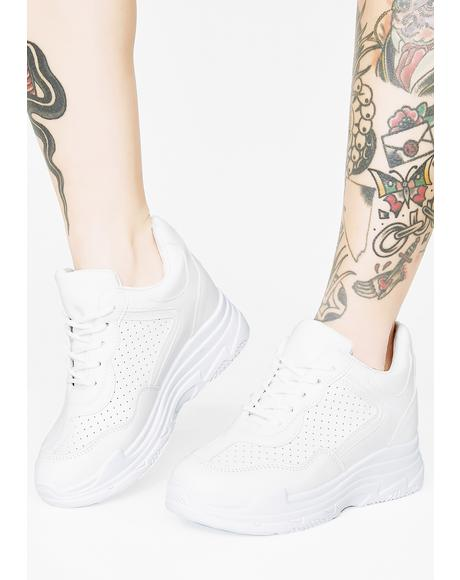 Romp Around Platform Sneakers