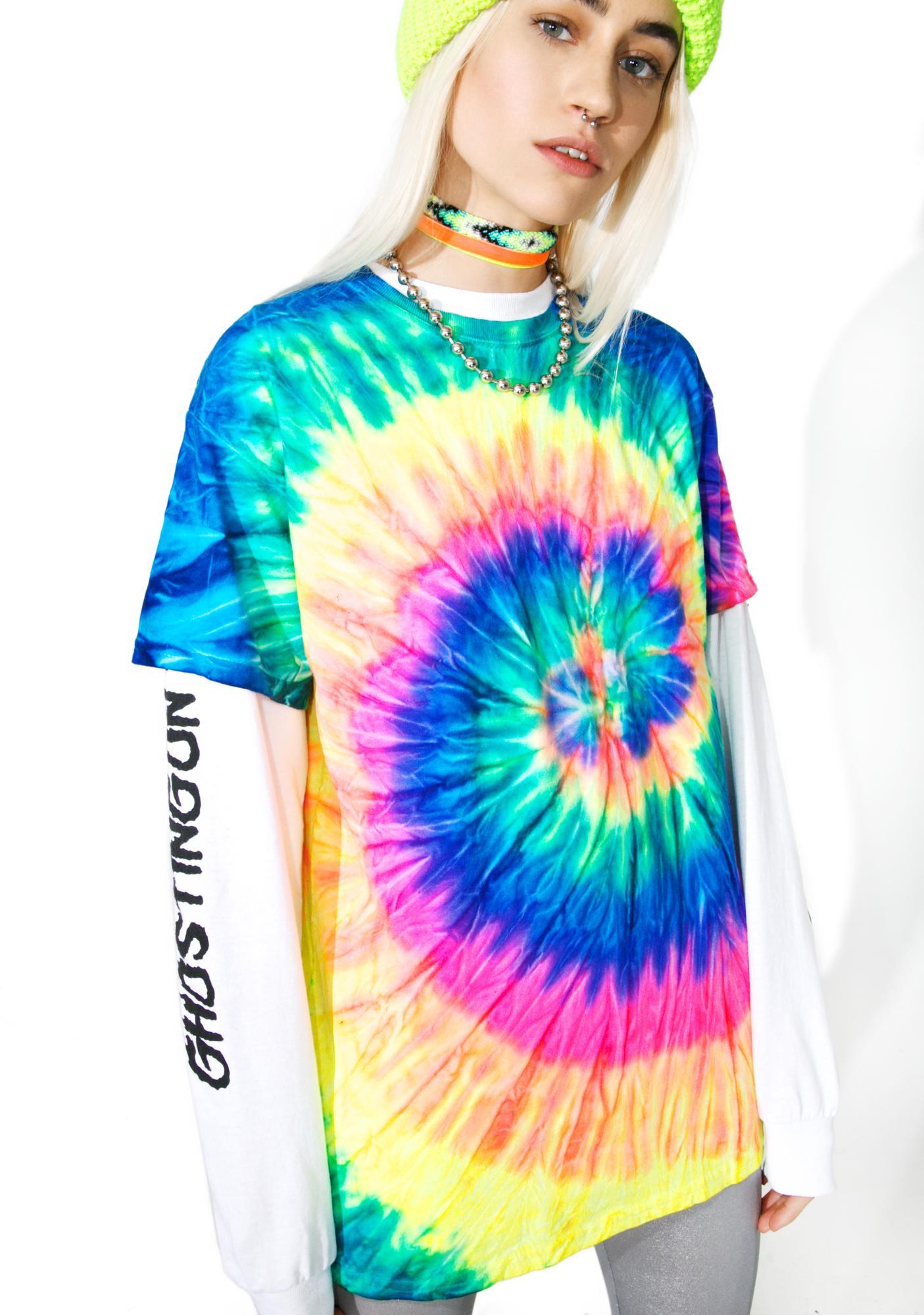 Neon Mirage Tie Dye Tee