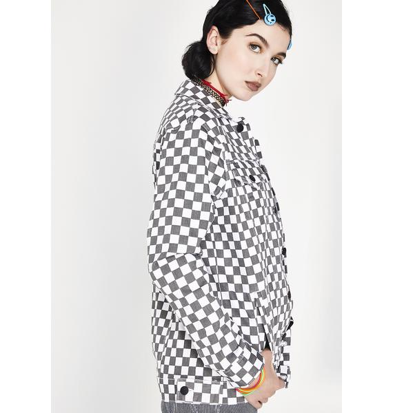 Dickies Girl Checkered Jacket