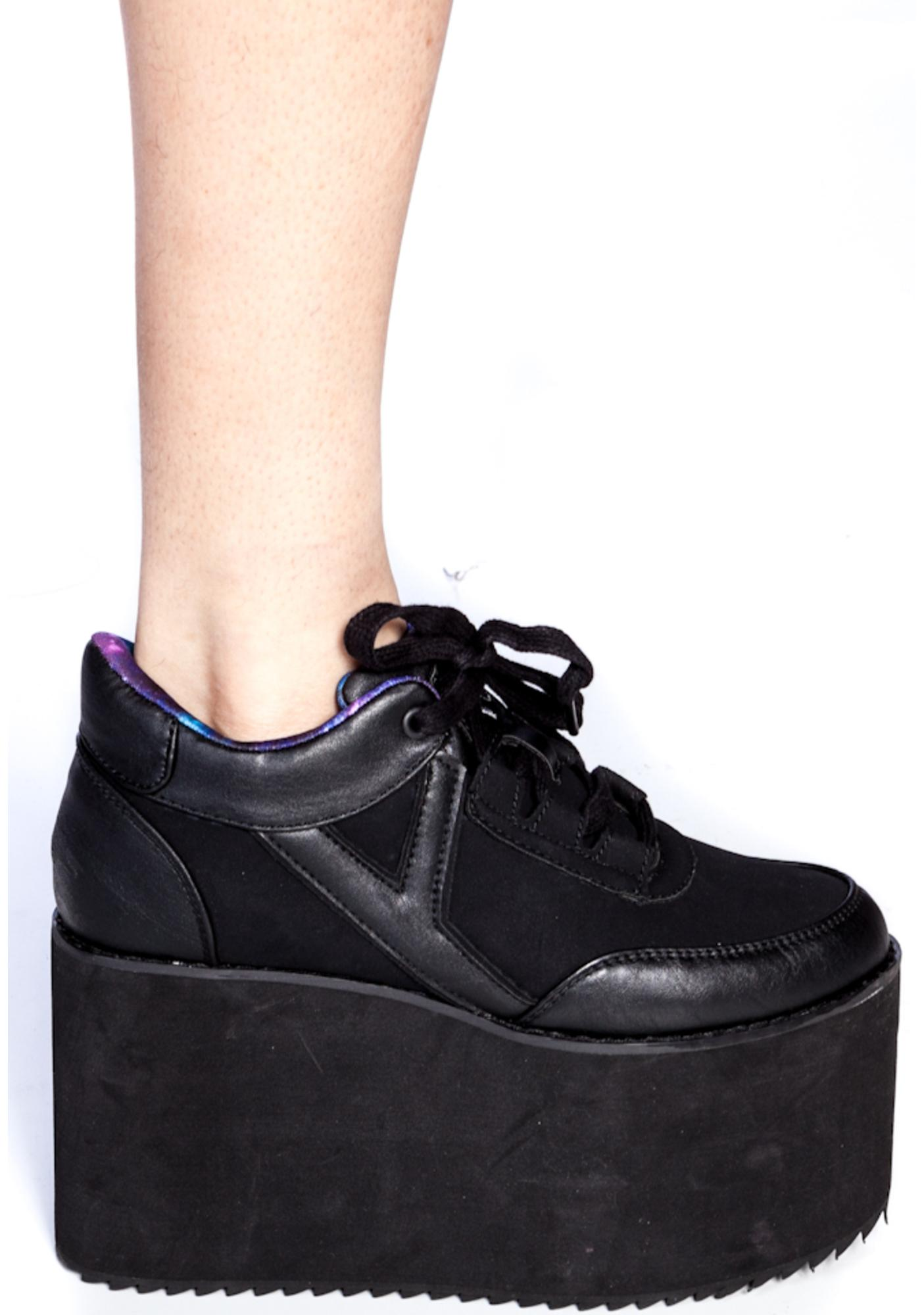 Y.R.U. Qozmo Platform Shoes | Dolls Kill