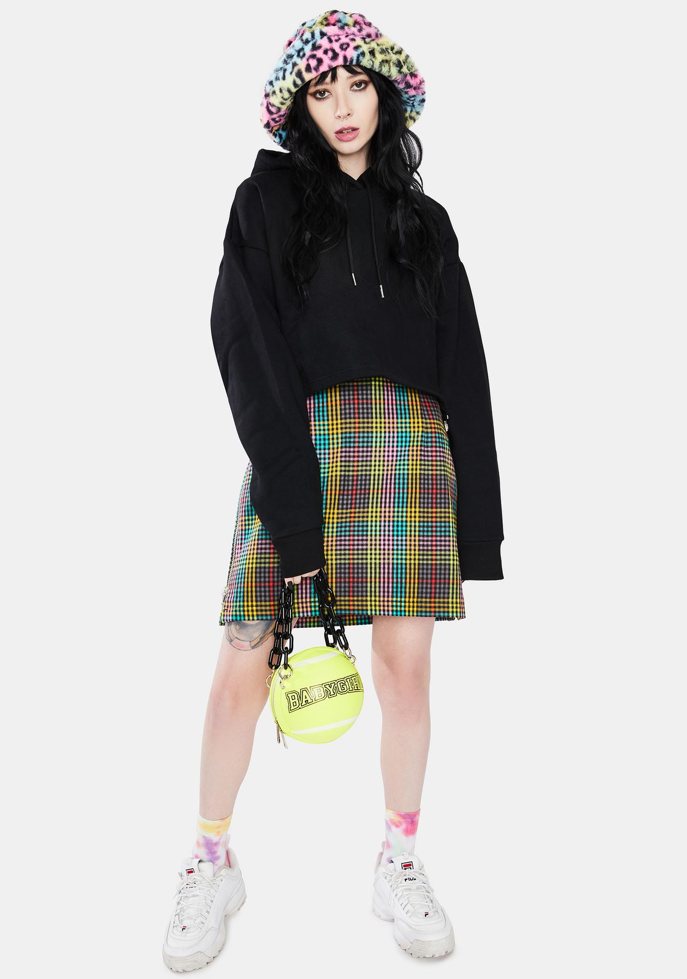The Ragged Priest Reveal Cropped Hoodie