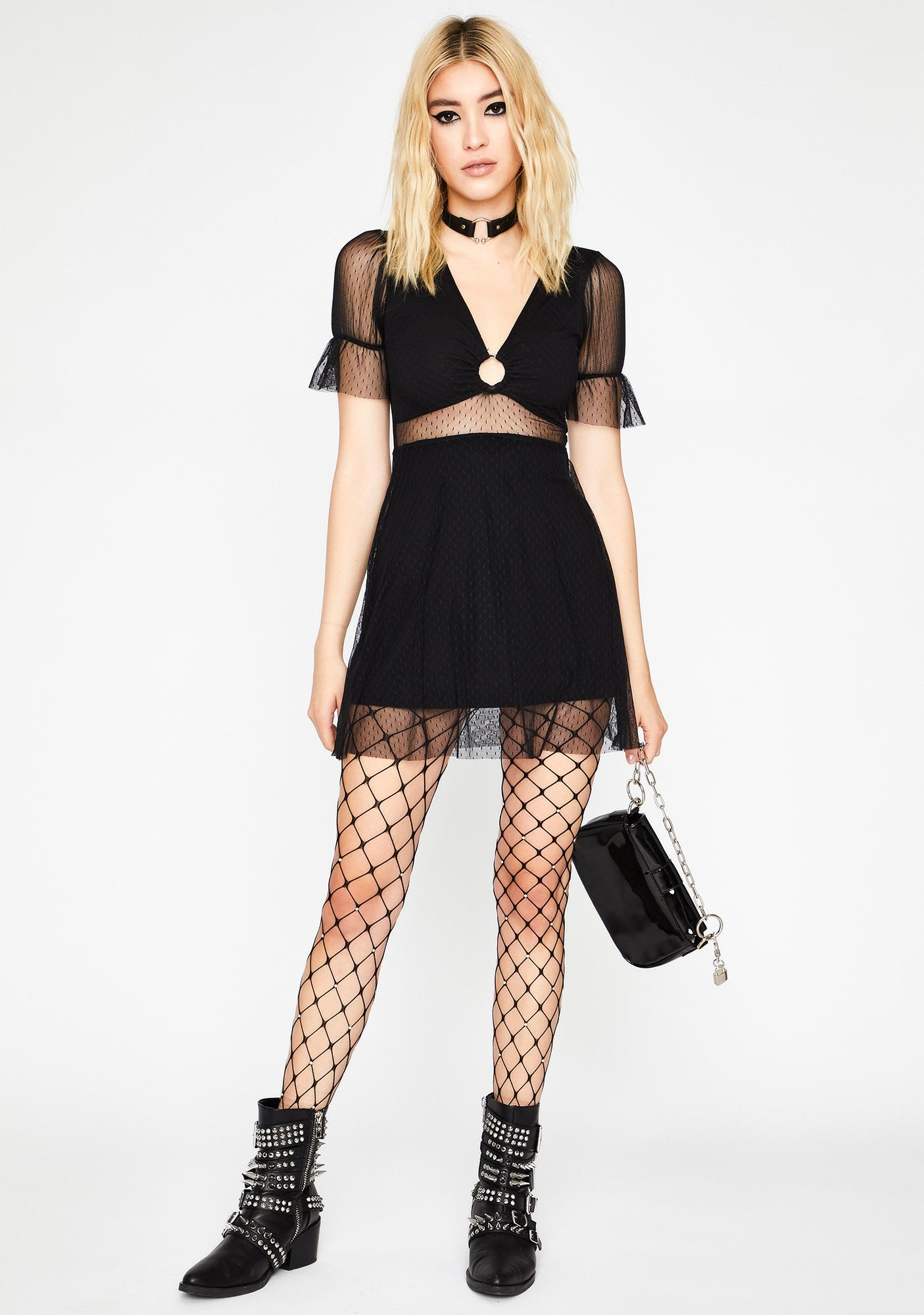 Deadly N' Dainty Mini Dress