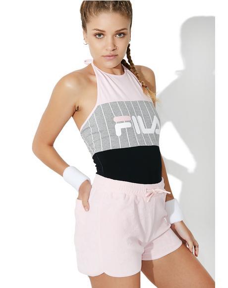 Fia Logo Stripe Bodysuit