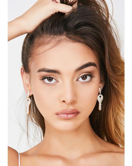 High Key Boujee Drop Earrings