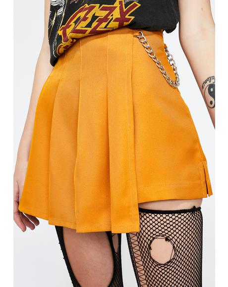 Honey Lit Sis Pleated Skort