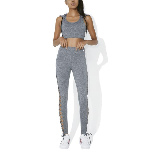 Feeling Xtra Lace-Up Leggings