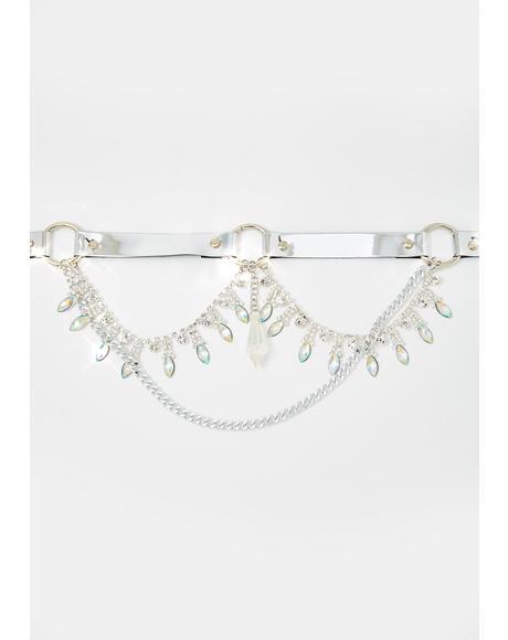 Nessa Crystal Belt