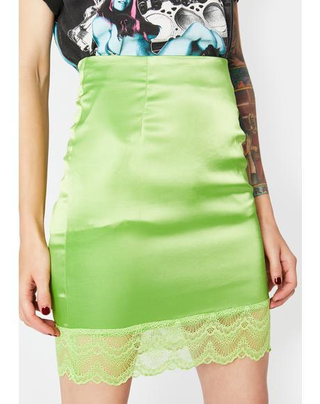 Lush Pretty Girl Rock Mini Skirt