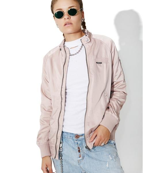 Members Only Blush Bomber Jacket