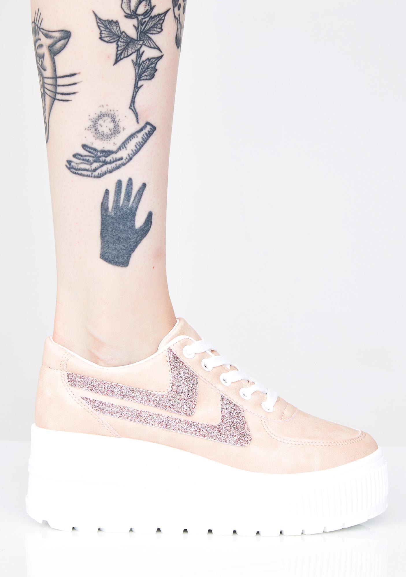 Miss Walk It Out Platform Sneakers