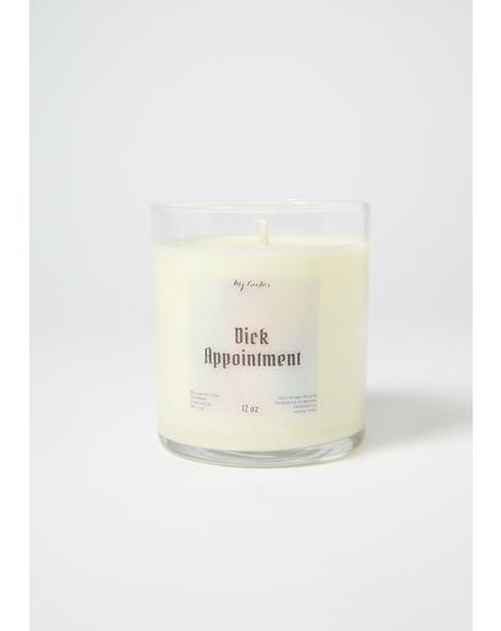 My Goodies Dick Appointment Soy Massage Candle