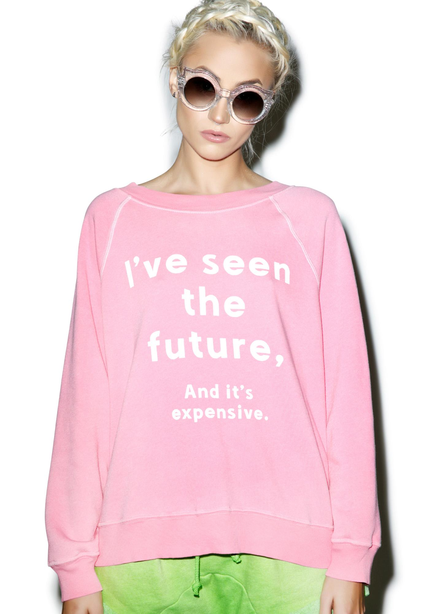 Wildfox Couture Clairvoyant Kim's Sweater