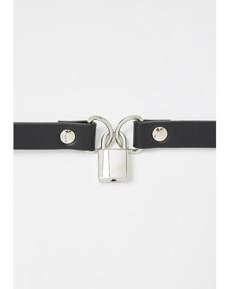 Cult Captive Lock Choker