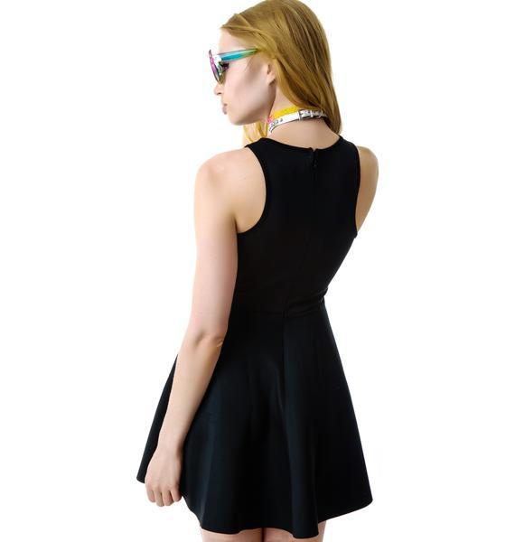 My Heart Needs Space Skater Dress