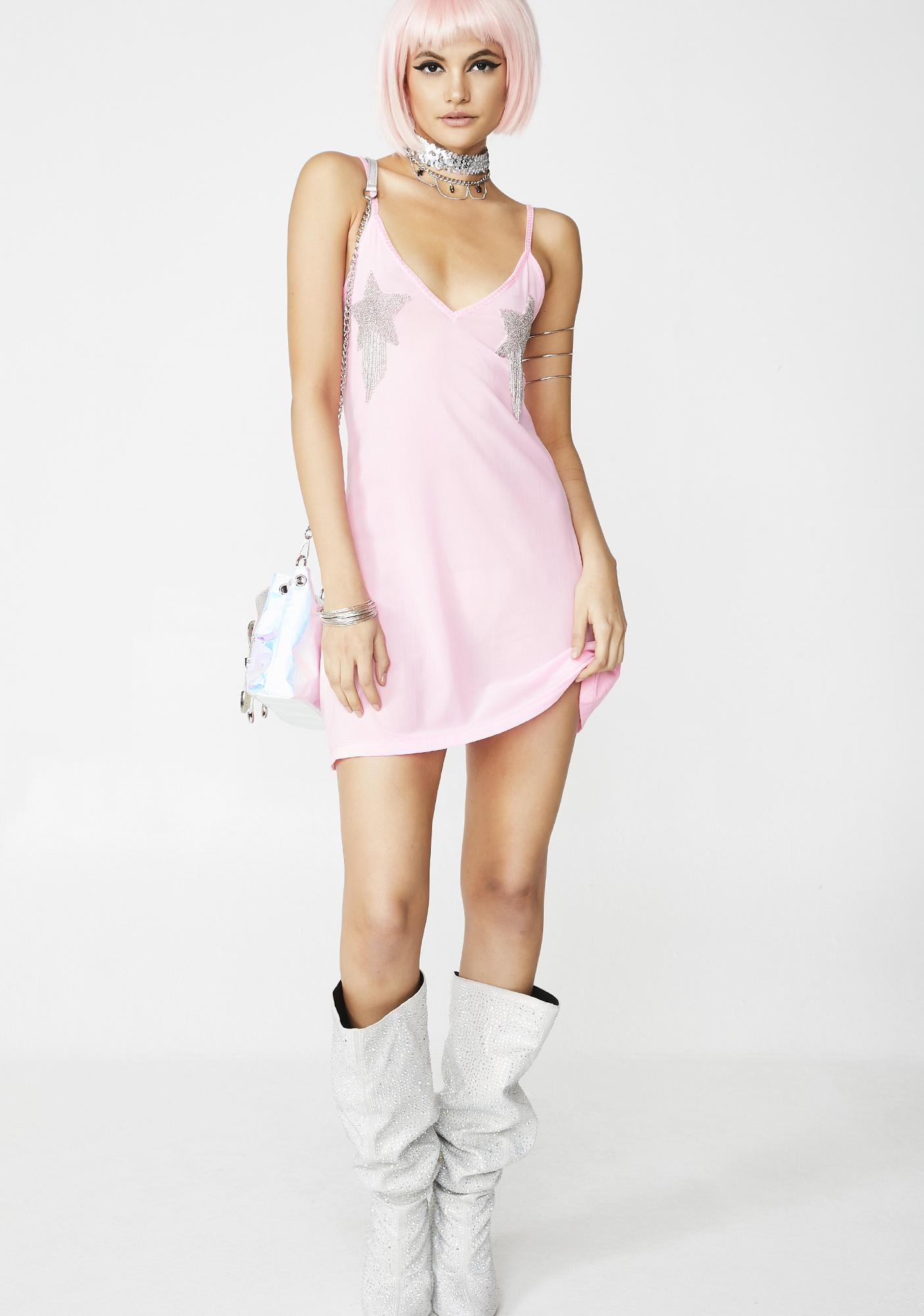 3ab4b01b0c5 Rhinestone Rodeo Slip Dress