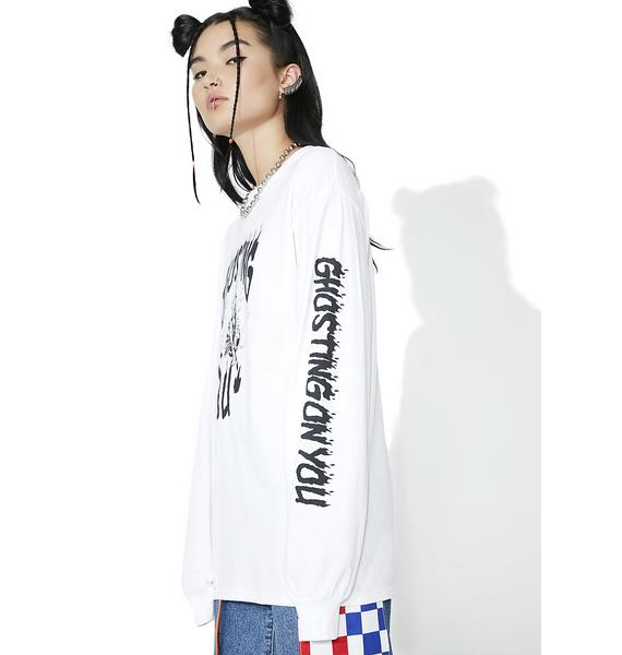 Petals and Peacocks Ghosting On You Long Sleeve Tee