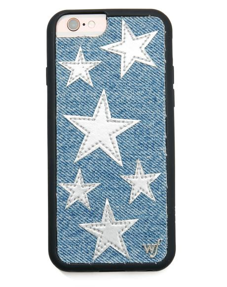 Silver Star Denim iPhone 6 Case