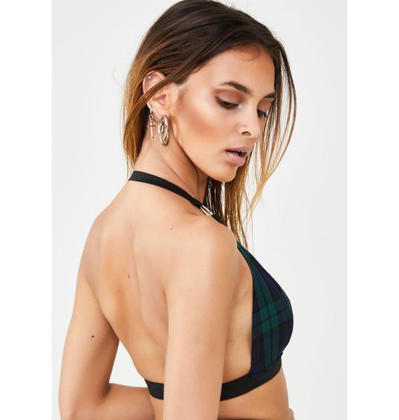 LOVE TOO TRUE Brooke Harness Bralet