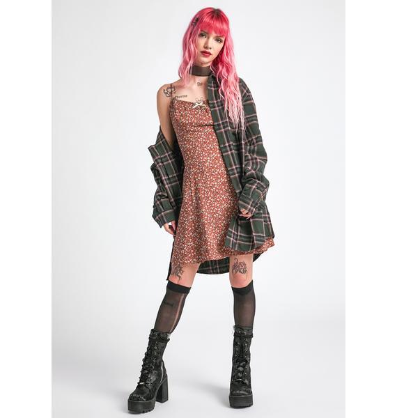 dELiA*s by Dolls Kill My New Crush Mini Dress