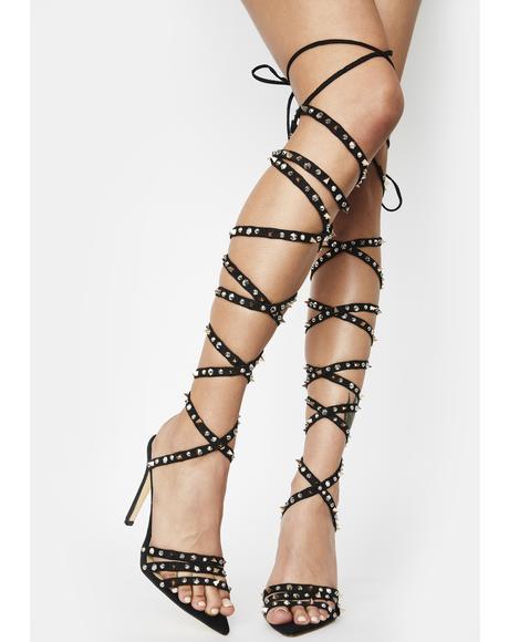 Niue Wrap Heels