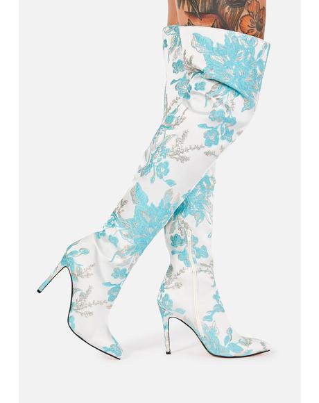 Myles Thigh High Boots