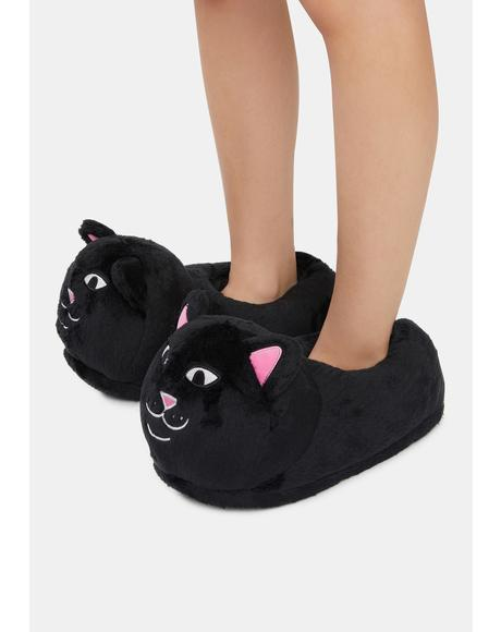 Black Lord Jermal Slippers