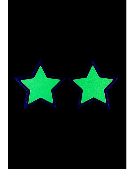 Bodak Reflective Star Pasties