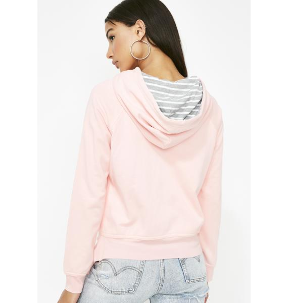 Blissed Out Stripe Hoodie