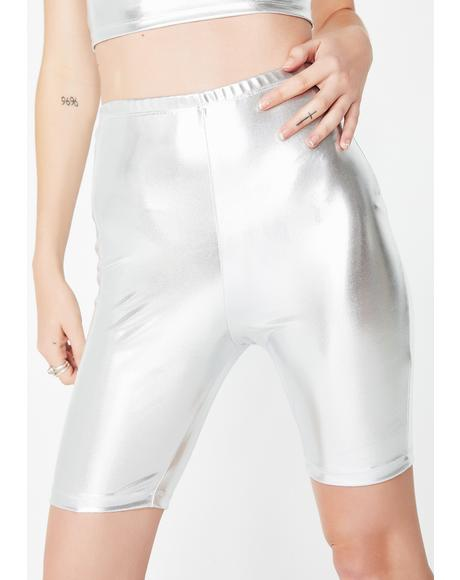 Silver Surfer Cycle Shorts