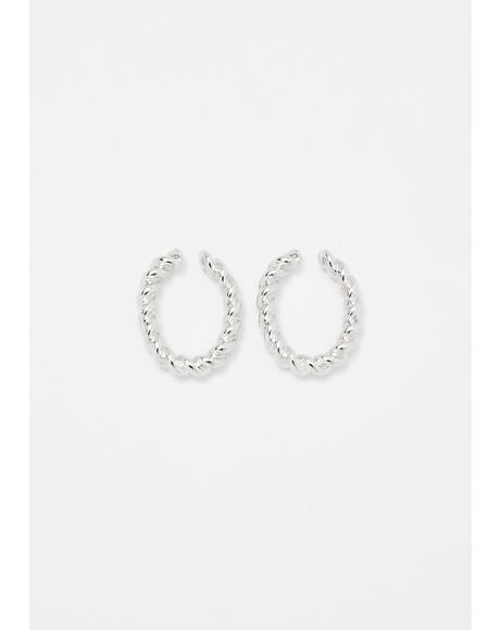 Double Double Ear Cuff Set