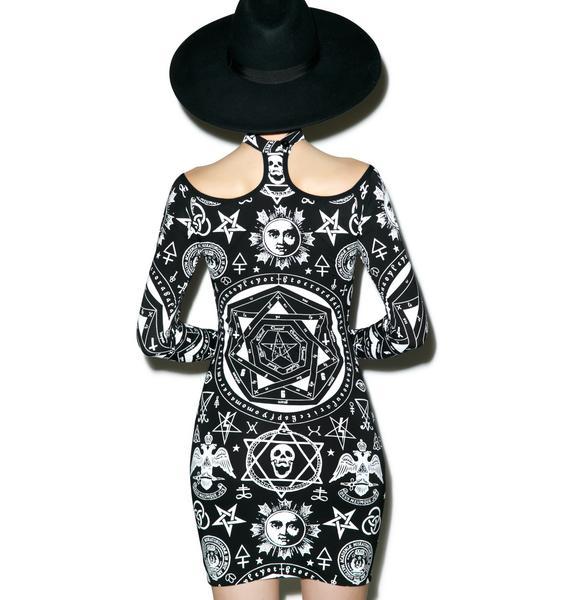 Killstar Bound Bodycon Dress