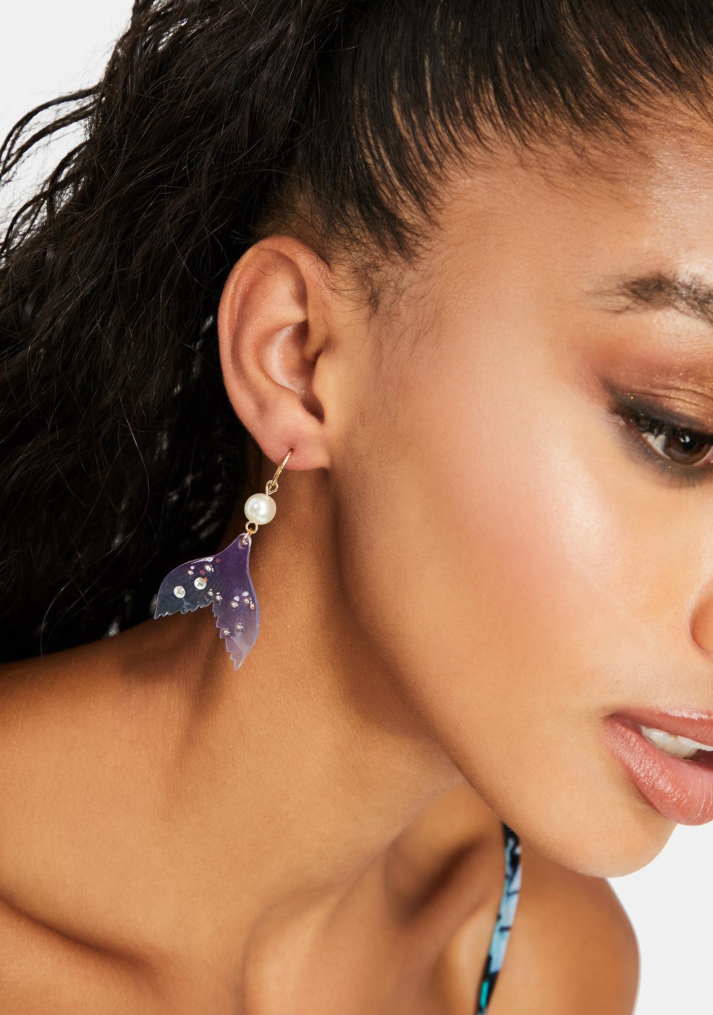 Daughter Of Pearl Drop Earrings