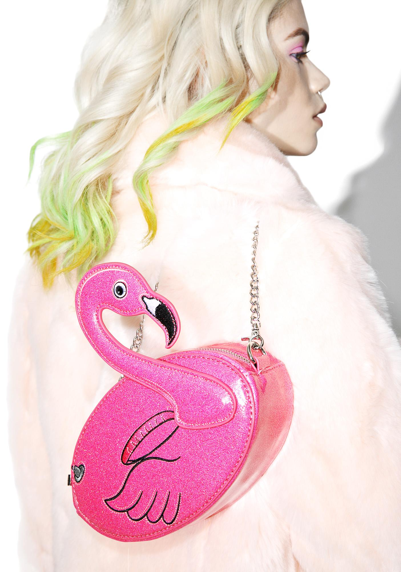 Skinnydip Flamingo Crossbody Bag